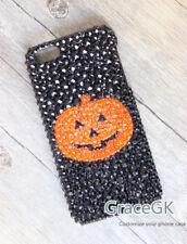 Funda de teléfono Bling Halloween Calabaza Personalizado para diversos teléfonos, cubierta del teléfono