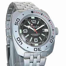 Vostok Amphibian Classic Military Russian Diver Watch Black 2416/ 710640 /Wr200m