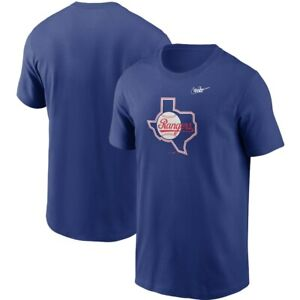 Texas Rangers Team MLB Champs Baseball New Tee 2021 T-Shirt Blue Sport Fan Trend