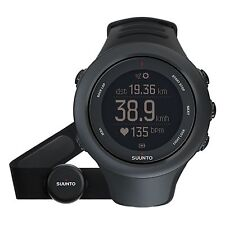 NEW* SUUNTO AMBIT3 BLACK MULTISPORT SPORT HR GPS WATCH - SS020678000  RRP £310
