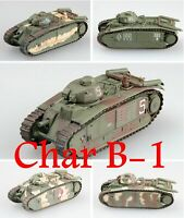 Easy Model 1/72 French Char B-1 Tank Plastic Model All of easy model