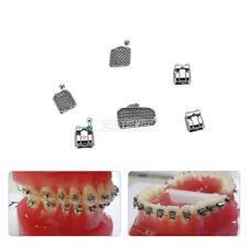 USPS AZDENT Dental Orthodontic MIM Self Ligating Bracket Braces +Buccal Tubes