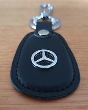 Mercedes Benz Leather Keyring Keychain AMG GT SLC SL