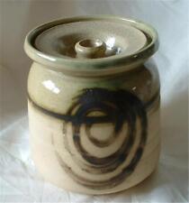 Unboxed Stoneware Studio Pottery Tableware Jars