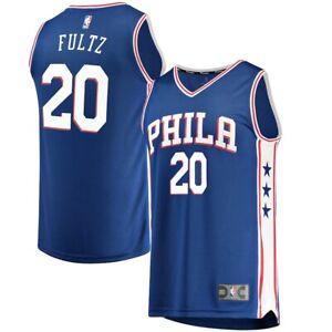 Philadelphia 76ers Markelle Fultz Fanatics Jersey Size XL BLUE NEW