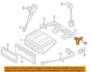 JAGUAR OEM 02-08 X-Type-Engine Crankshaft Crank Position Sensor CPS XR829578