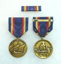 US Department of the Navy, Marine Corps Yangtze Service Medal, set of 2