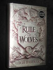 NEW - SIGNED/Ltd - LEIGH BARDUGO - Rule of Wolves (2021-1st) King of Scars #2 HB