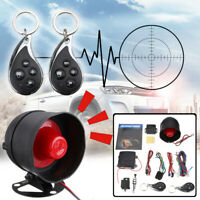 2-Way Car Auto Burglar Alarm Keyless Entry Security Protection System 2 Remote