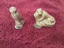 Wade England Figurines Miniature - Owl And Lioness In Tree