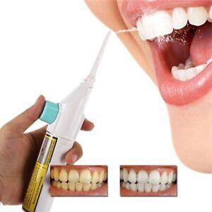 Oral Irrigator Water Flosser Teeth Plaque Cleaner Remover Dental Care Brush UK
