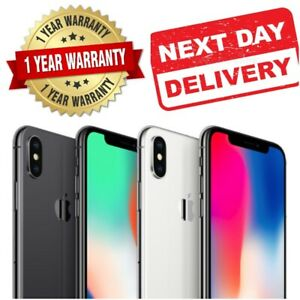 NEW SEALED Apple iPhone X (iPhone 10) 64GB 256GB All Colours Unlocked Device