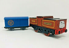 Thomas Trackmaster Motorized Train Stafford Car Tank Engine Battery Operated