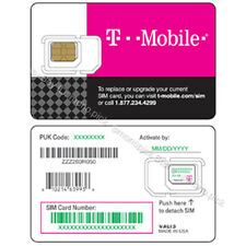 T-Mobile Unlimited/15 Days USA Canada Mexico Local Voice Data PAYG Prepaid SIM