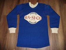VINTAGE 1930'S ?, GAME USED WOOL HOCKEY JERSEY BEAUTIFUL ADULT SIZE GREAT SHAPE