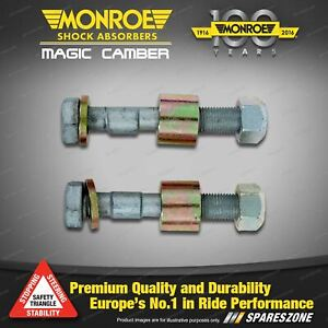 2 Pcs Front Monroe Magic Cambers for Audi 80 90 Quattro Sedan Wagon 78 - 96