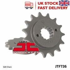 JT Piñón de Moto de tracción delantera-JTF736 14t se adapta a Ducati 600 ss 94