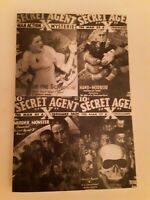 Pulp Classics #22. History of Secret Agent X by Tom Johnson and Will Murray. VG.