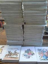 Lot de 48 livres bibliothèque du club de la femme relié pleine toile illustrés