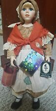 "Geppeddo Cinderella ""The Maid"" Fairy Tale Series 16"" Porcelain Doll"