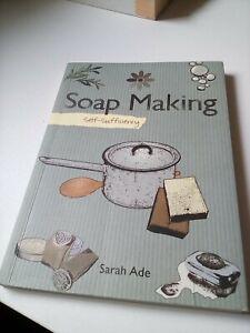 book soap making self sufficiency good. Sarah ade
