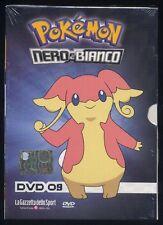 POKEMON Nero & Bianco vol. 9 - DVD digipack + booklet edicola sigillato 408