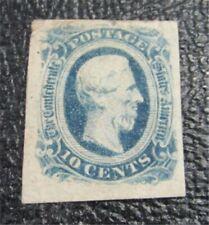 nystamps US CSA Confederate Stamp # 12 Mint OG H $20