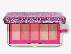 TARTE LIFE OF THE PARTY CLAY BLUSH PALETTE & CLUTCH fast ship!