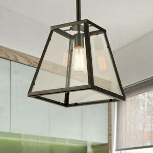 Kitchen Chandelier lighting Glass Pendant Light Home Lamp Black Ceiling Lights
