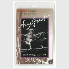 Amy Grant authentic 1998 concert Laminated Backstage Pass Behind the Eyes Tour