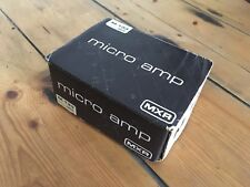 MXR Micro Amp M-133 Guitar Pedal BOX ONLY