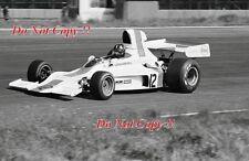 Graham Hill Embassy Racing Shadow DN1 Swedish Grand Prix 1973 Photograph 2