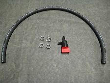 "Tecumseh 35857 fuel shut off 26460 clamp 2 feet 1/4"" fuel line KIT snow blower"