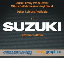 Suzuki Jimny Wheelcover Sticker decal - Other colours available