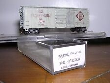 "ATLAS #3402  2-Erie-Lackawanna 40'Steel Box Cars #70736 & #71501   ""N"" Gauge"