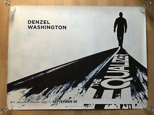 The Equalizer, Original UK Quad Sheet Movie Poster