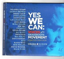 (HA142) Various Artists, Yes We Can: Voices Of A Grassroots Movement - 2008 CD