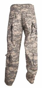 HELIKON US ACU Combat Trousers RIPSTOP Army Mens Cargo Pants Digital Camo XS-XXL