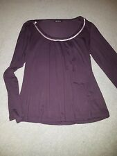 Autograph mulberry long sleeved top .  Size 12