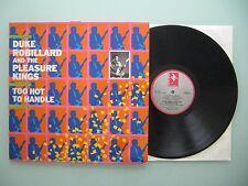 Duke Robillard And The Pleasure Kings - Too Hot To Handle UK 1985  LP Vinyl: m-
