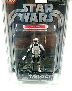 "STAR WARS Scout Trooper 3.75"" Figure OTC Original Trilogy ROTJ #11 2004 Sealed"