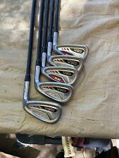 ADAMS GOLF IDEA A3 HYBRID IRONS 6-9+PW REG. FLEX GRAPHITE SHAFTS