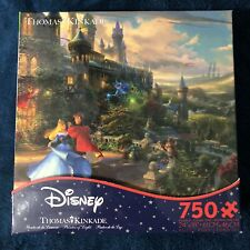 Disney Thomas Kinkade Sleeping Beauty Puzzle 750 Piece NEW! Sealed Box!