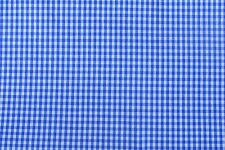 1:12 Scale 30cm Square Blue Check Pattern Cotton Material Tumdee Dolls House M9