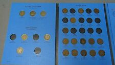 Indian Head Cent Collection With 43 Coins In Whitman Folder