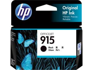 HP 915 Black Ink Cartridge 3YM18AA For OFFICEJET 8028 8026 8010 8012 8020 8022
