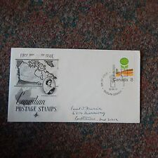 Estate Find Fdc - Canada Agricultural Education 8 Cents, 1974