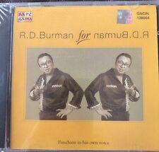 R D Burman - Pancham In His Voice. CD. Saregama RPG. NEW. STILL SEALED.