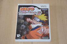 Jeu Nintendo Wii Naruto clash of Ninja 2 -   VF