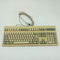 Vintage BTC-53 Clicky Mechanical Computer Keyboard E5X5R5BTC-5339R-0 Untested